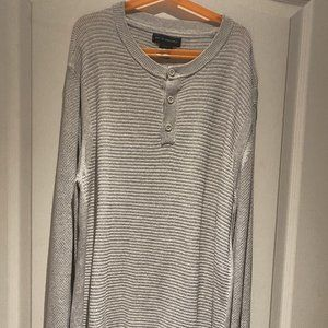 Long Sleeve Knitted Sweater Shirt